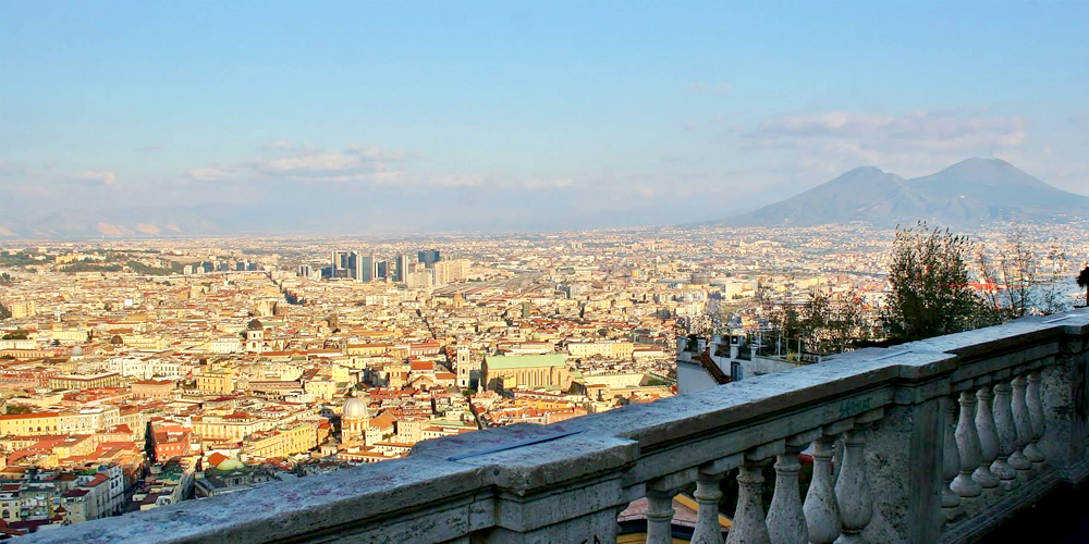 Naples From San Martino A Breathtaking View And Traditional