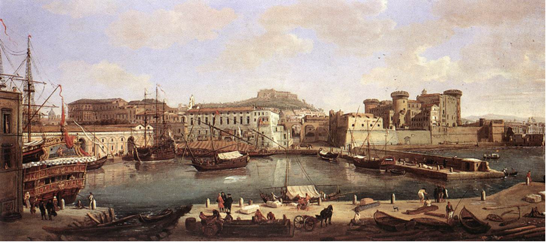 Naples and art: 6 paintings of Naples by foreign artists