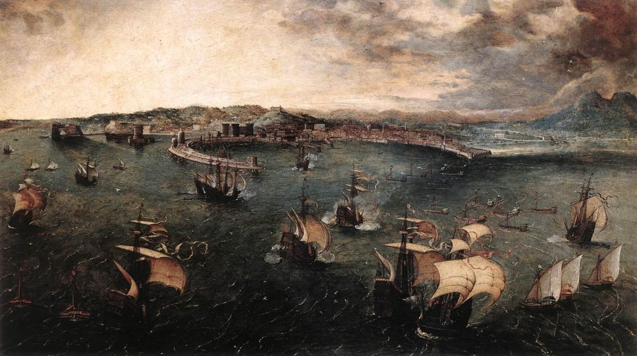 Napoli E Larte 6 Dipinti Di Napoli Realizzati Da Pittori Stranieri