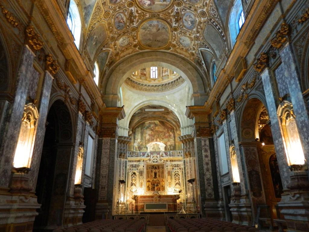Dóm - San gennaro Vesuviano, Nápoly. Olaszország